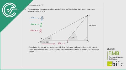 A_161 Stadtturm* a [Trigonometrie]