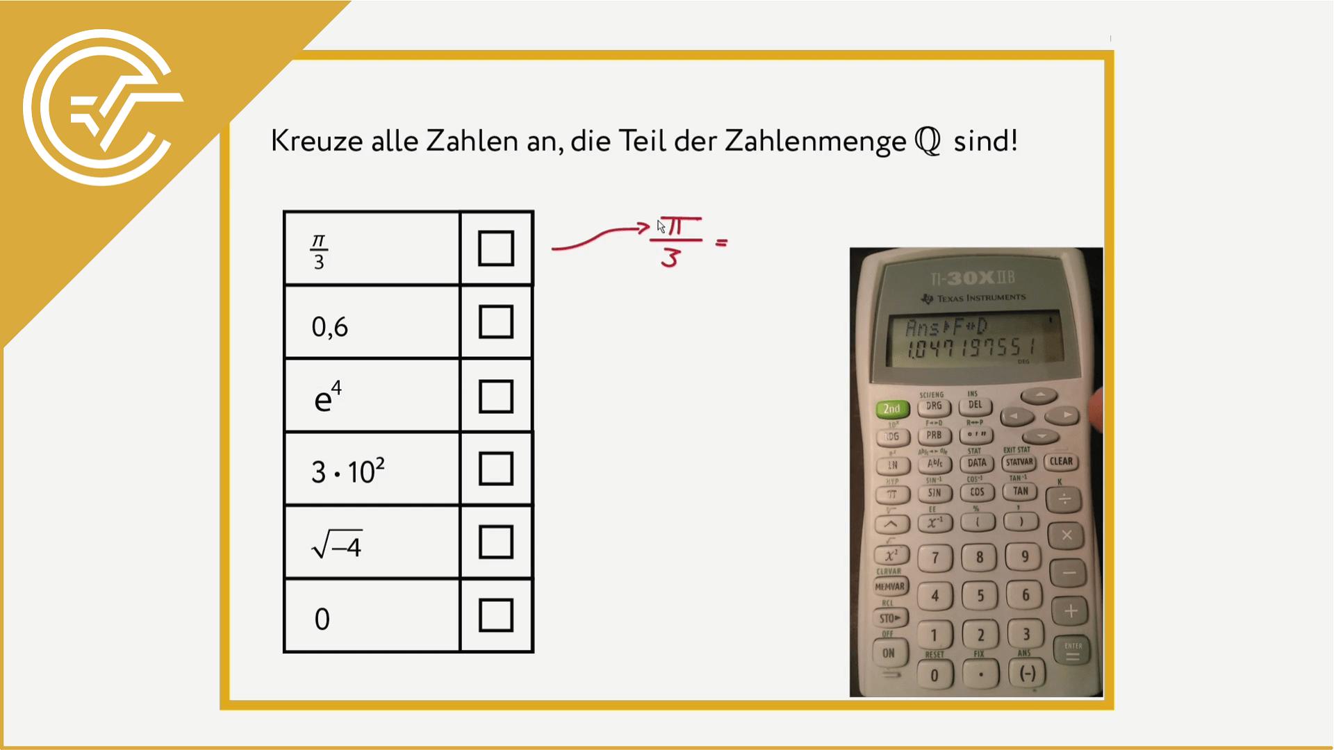 AG 1.1 - Zahlenmengen verstehen 1