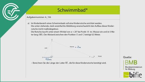 A_156 Schwimmbad* a [Trigonometrie]