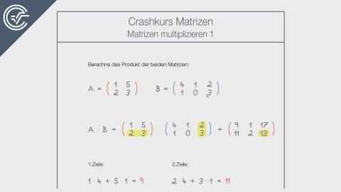 Matrizen multiplizieren 1