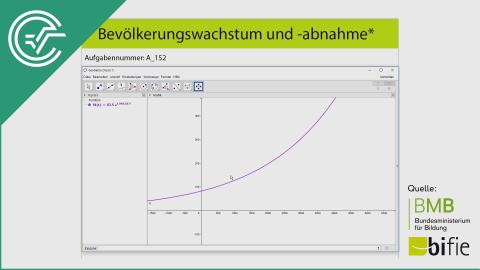 A_152 Bevölkerungswachstum und -abnahme a [Exponentialfunktionen]