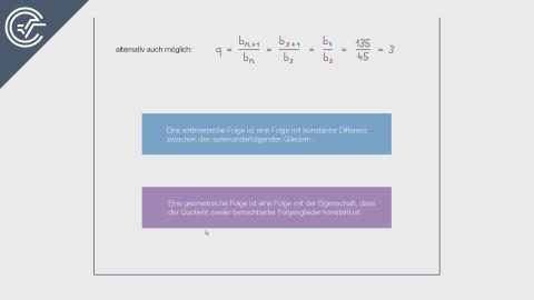 Arithmetisch oder Geometrisch?